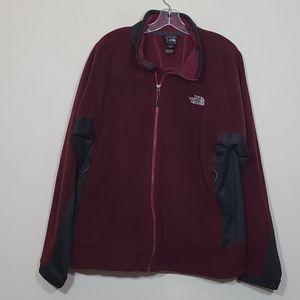 The North Face Fleece Mens Full Zip Jacket Size XL